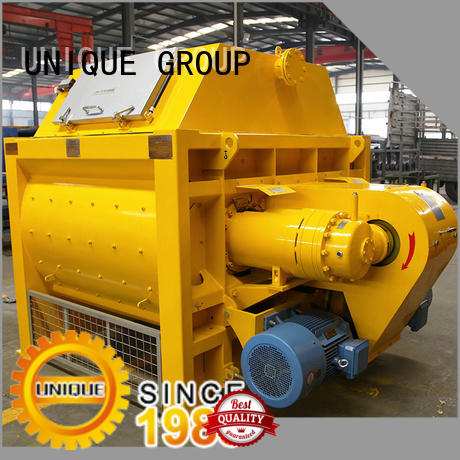 UNIQUE plant concrete mixer machine with water supply system