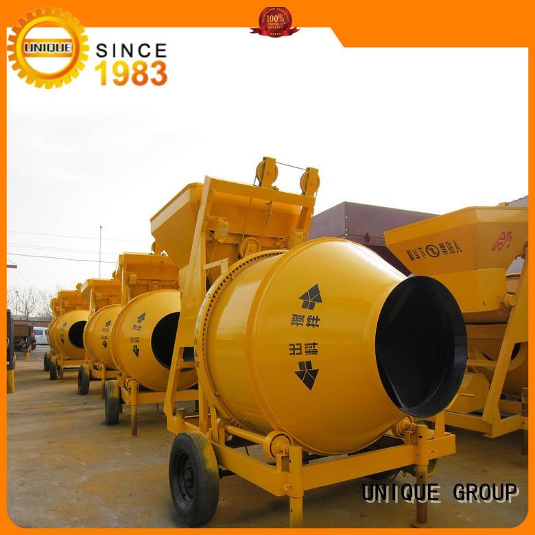 UNIQUE concrete mixer for sale with discharging system