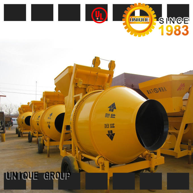 UNIQUE long lasting concrete mixing plant with discharging system for light aggregate concrete