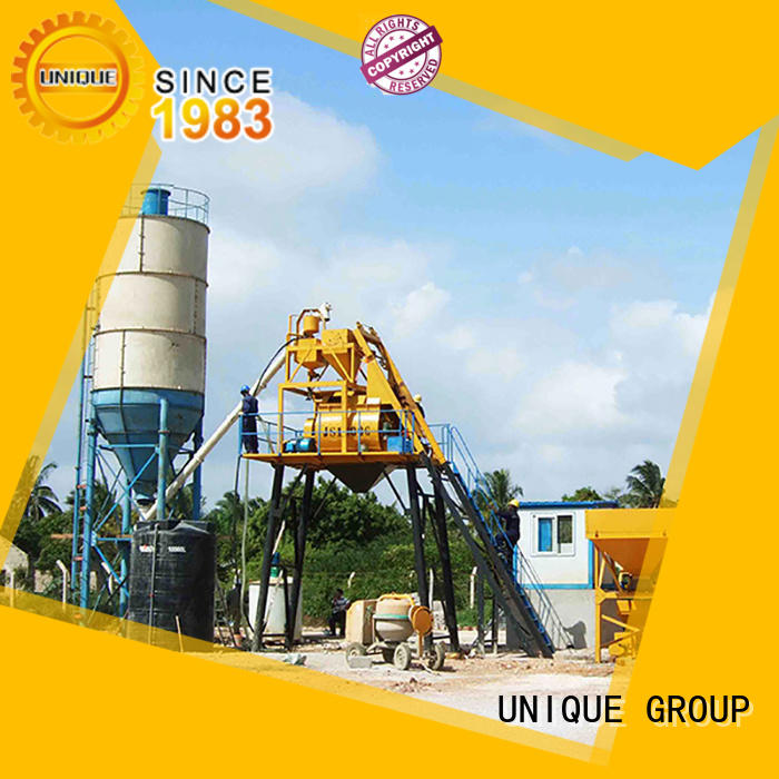 UNIQUE big capacity concrete manufacturing plant supplier for building