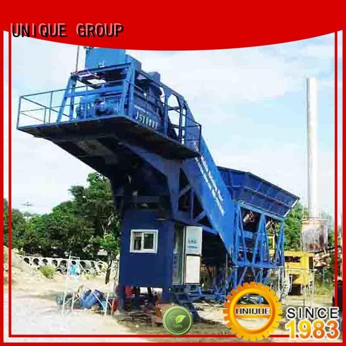 UNIQUE mix concrete batching plant price promotion for sea port