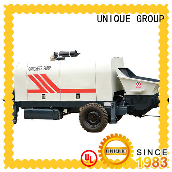 UNIQUE high quality concrete pumping equipment supplier for water conservancy