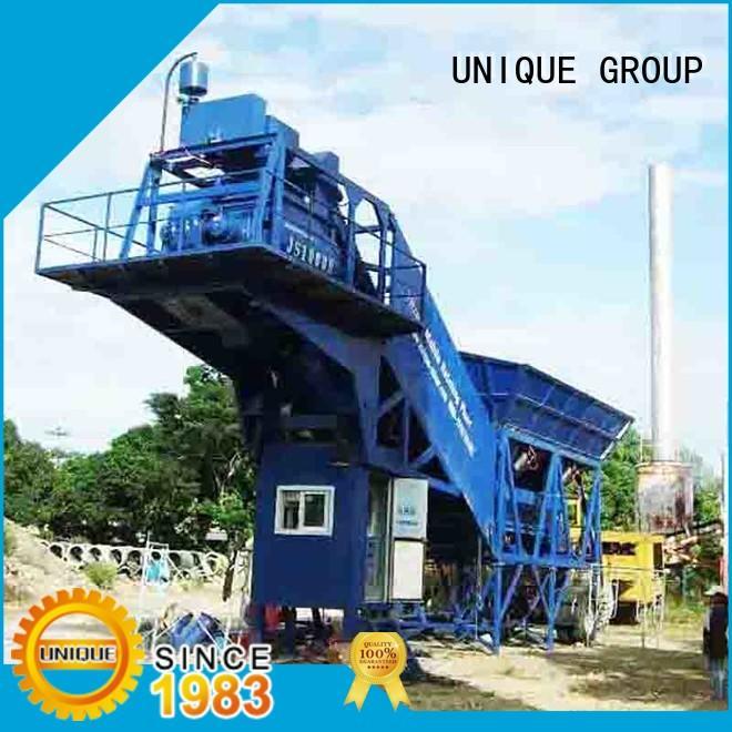 UNIQUE big capacity concrete manufacturing plant supplier for bridges