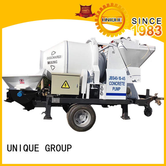 UNIQUE high quality concrete pumping machine directly sale for railway tunnels
