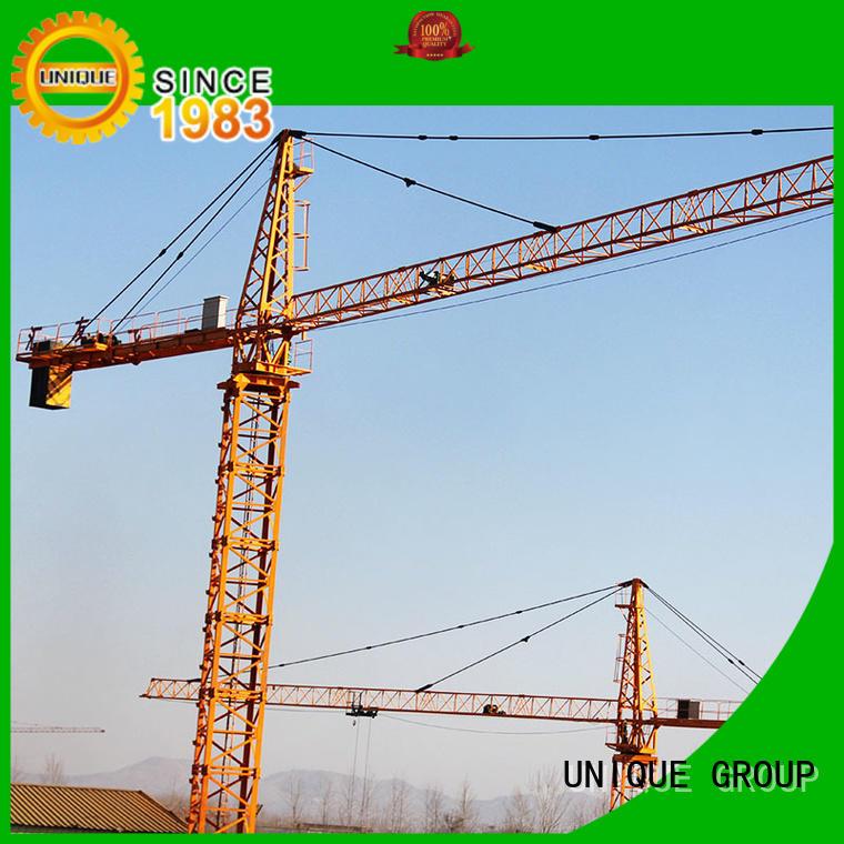 UNIQUE high efficiency crane machine supplier for tower