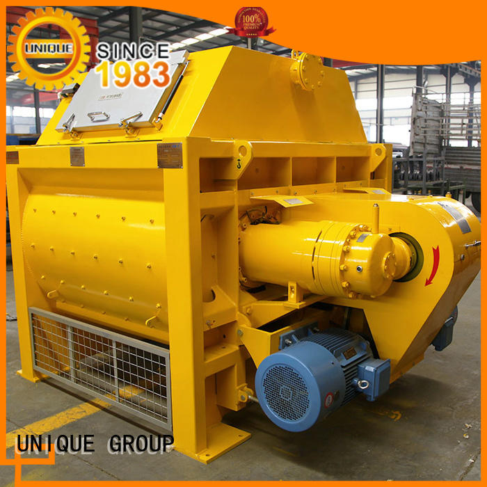 UNIQUE easy use concrete mixer for sale with water supply system for project