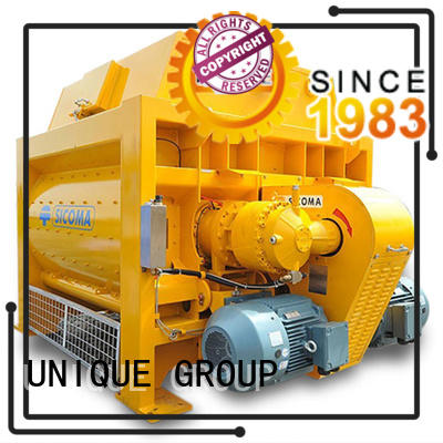UNIQUE plant concrete mixer price with water supply system for concrete products