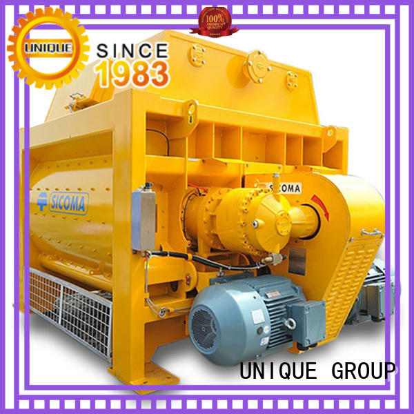 UNIQUE easy use concrete mixer for sale with discharging system for hard-dry concrete