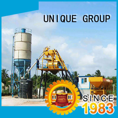 UNIQUE concrete concrete batching plant at discount for road