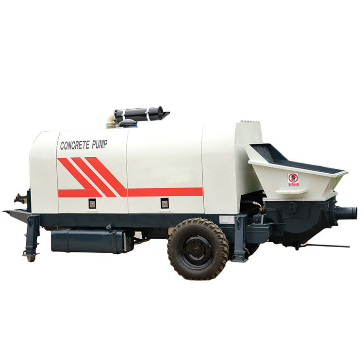 professional concrete pumping machine directly sale for roads