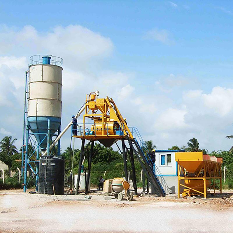 efficient concrete batching mixer manufacturer for air port