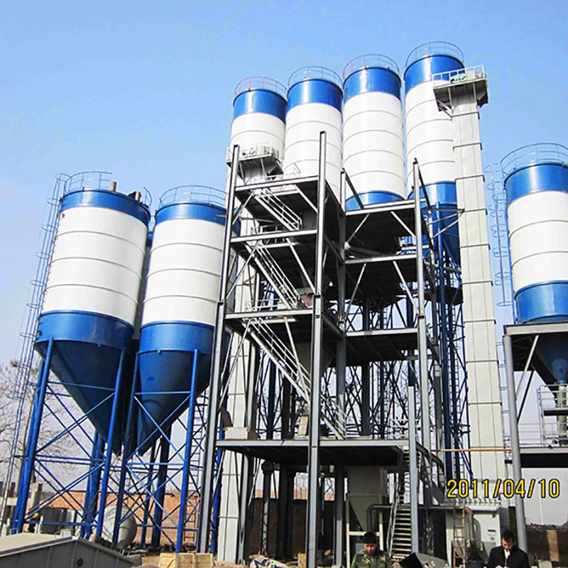 UNIQUE dry mix concrete plant environmental protection for plant