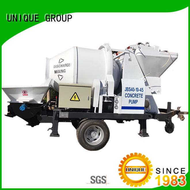 UNIQUE mixer concrete pumping equipment online for hydropower engineering