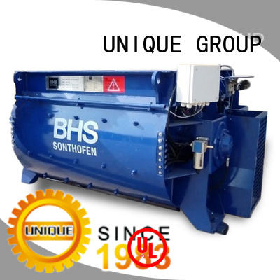 UNIQUE stronger concrete mixer price with discharging system for project