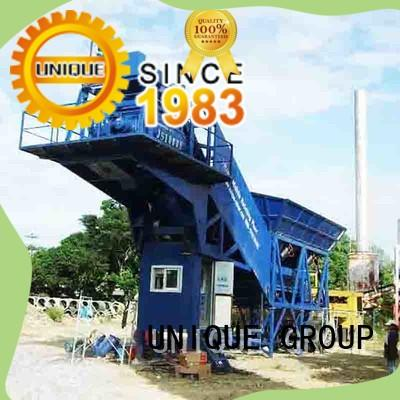 commercial concrete batching mixer supplier for road