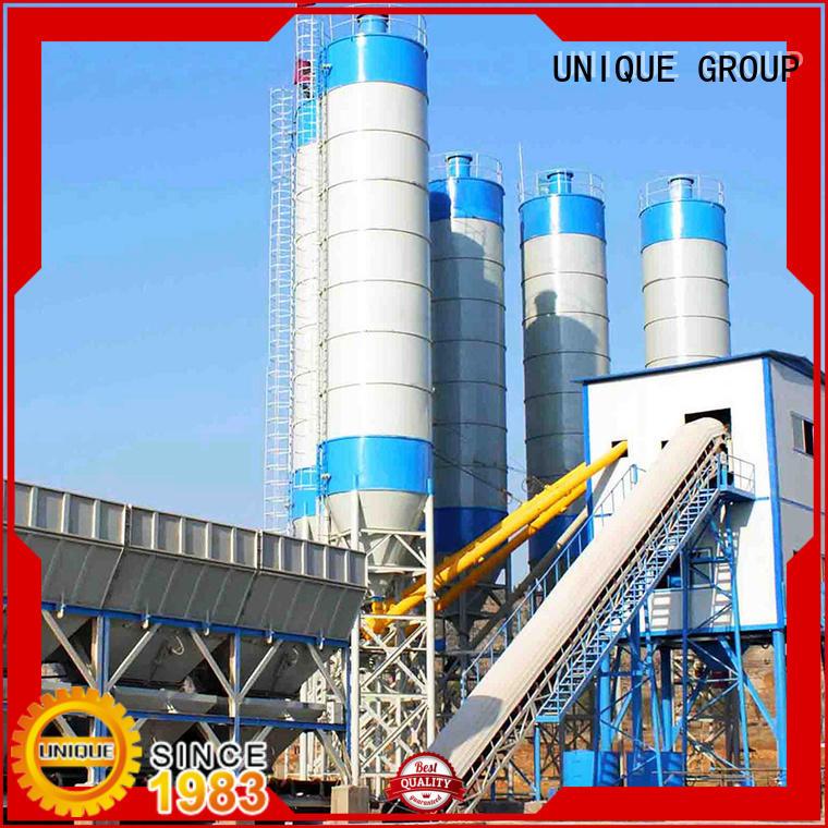 UNIQUE anti-interference mobile concrete plant promotion for road