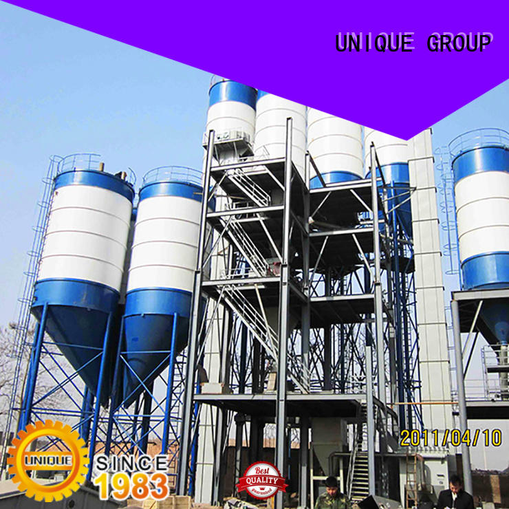 full computer control dry mix concrete plant mortar simple process for plaster
