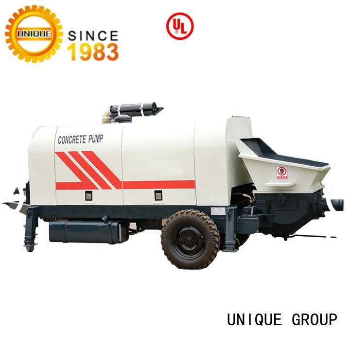 UNIQUE concrete pump machine supplier for hydropower engineering