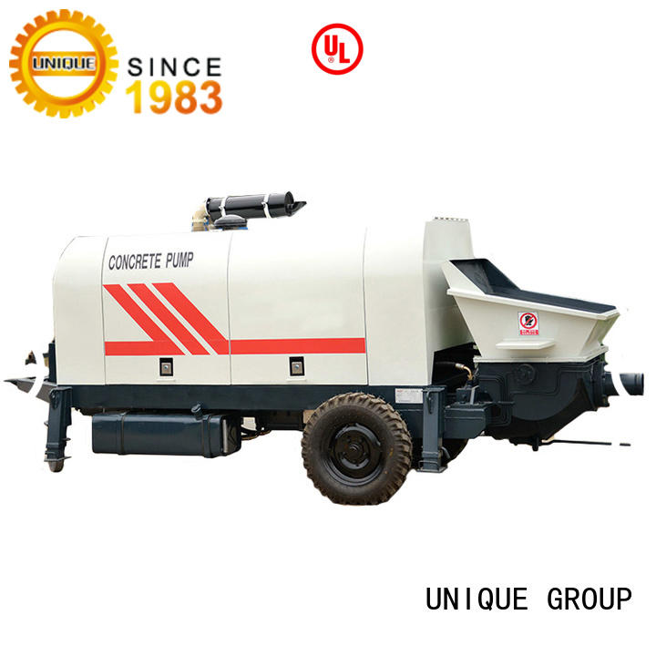 UNIQUE concrete pump machine supplier for hydropower engineering