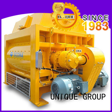 stronger twin shaft mixer with discharging system