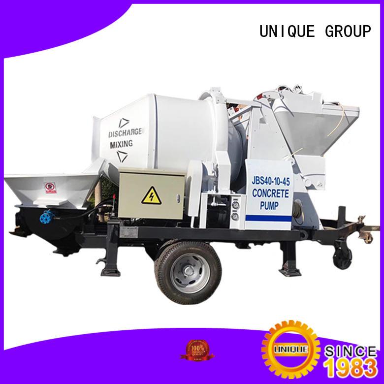 UNIQUE high quality concrete mixer pump online for railway tunnels