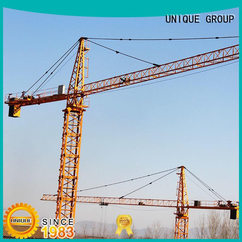 crane construction crane supplier for construction site UNIQUE