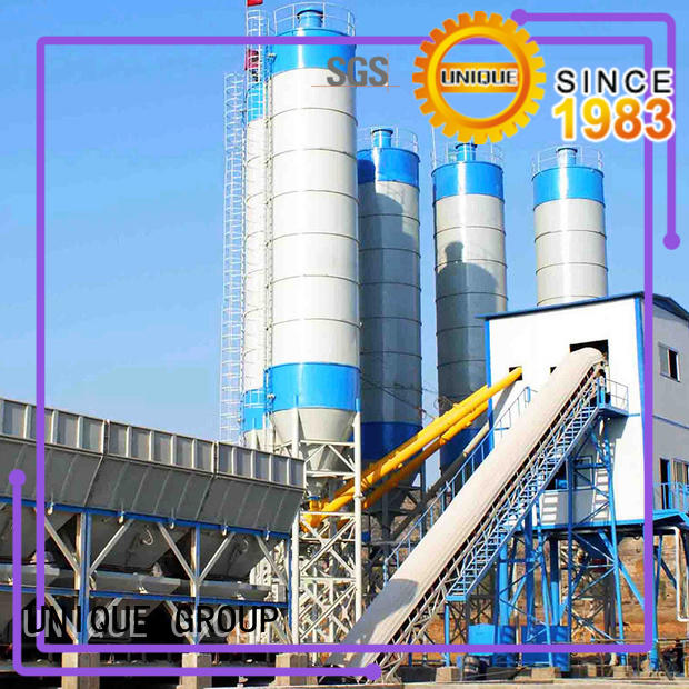 big capacity mobile batching plant at discount for air port