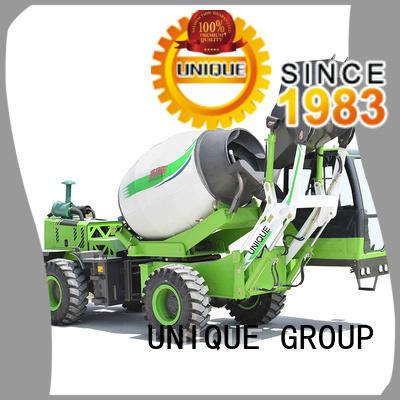 UNIQUE steering self loading concrete mixer metering for concrete production