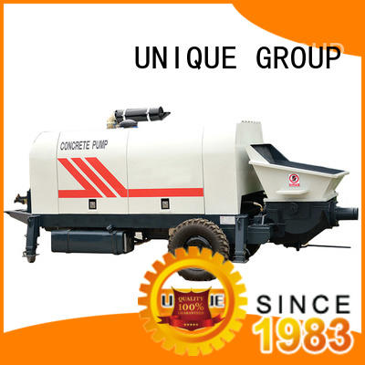 professional concrete trailer pump mixer supplier for railway tunnels