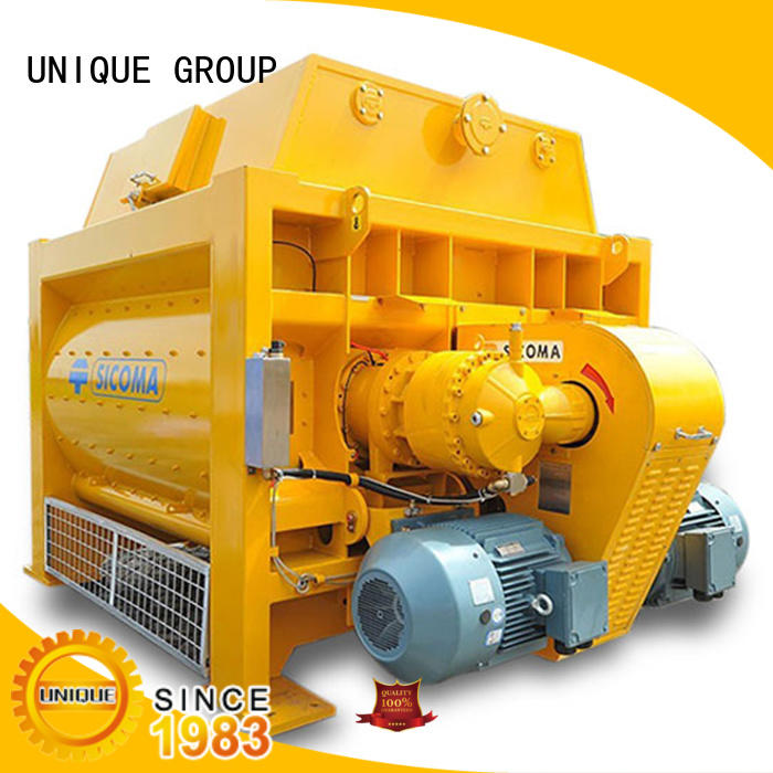 UNIQUE easy use concrete mixer price with water supply system