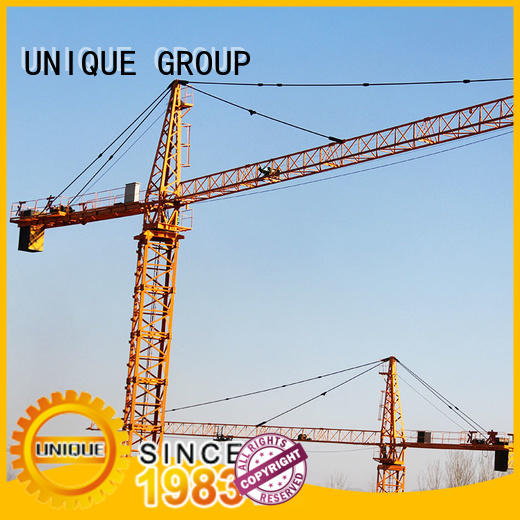 UNIQUE tower stationary crane supplier for buildings