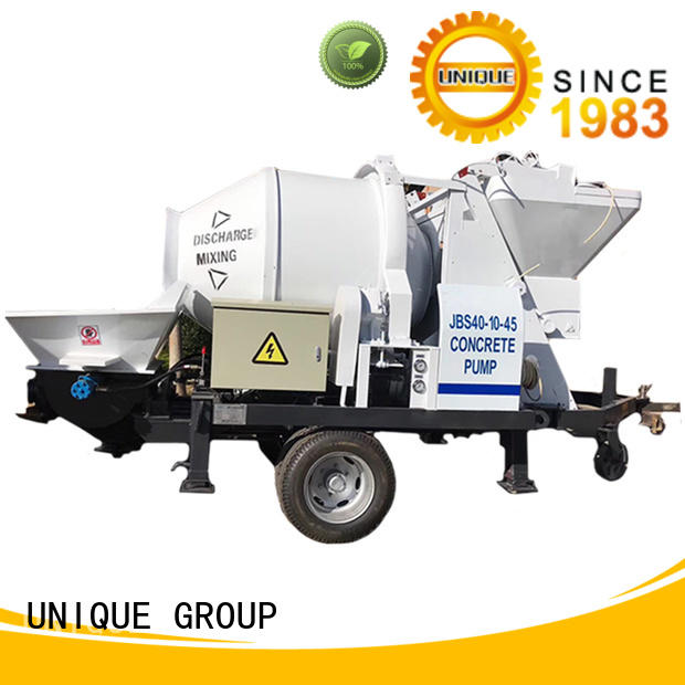 high quality concrete trailer pump pump online for water conservancy