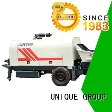 UNIQUE concrete concrete trailer pump directly sale for water conservancy