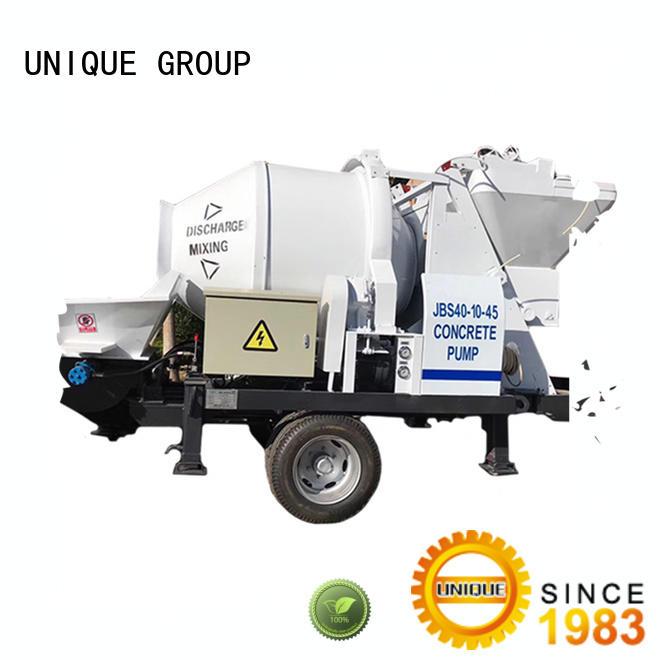 UNIQUE pump concrete mixer pump manufacturer for hydropower engineering