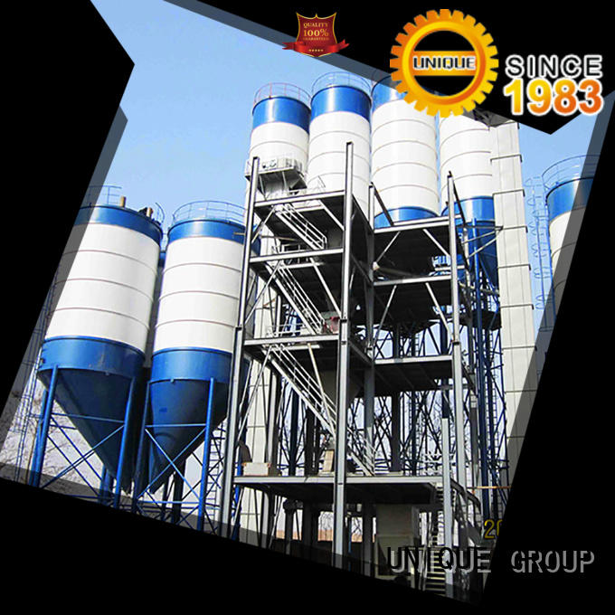 compact structure dry mix plant simple process for project