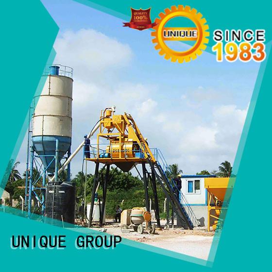 UNIQUE series concrete plant equipment at discount for building