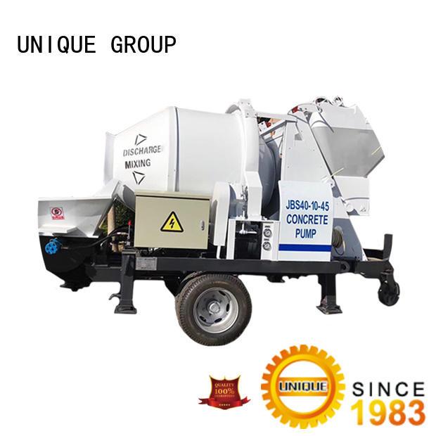UNIQUE pump concrete pump machine supplier for roads