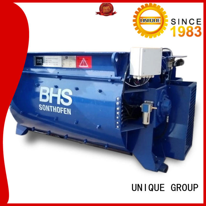 UNIQUE ready concrete mixing equipment with feeding system for concrete products