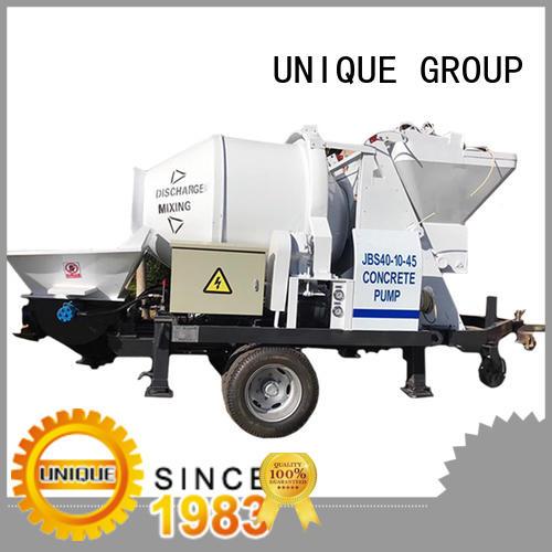 UNIQUE professional concrete pump supplier for railway tunnels