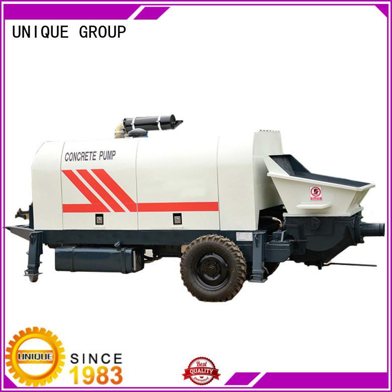 UNIQUE concrete trailer pump directly sale for water conservancy