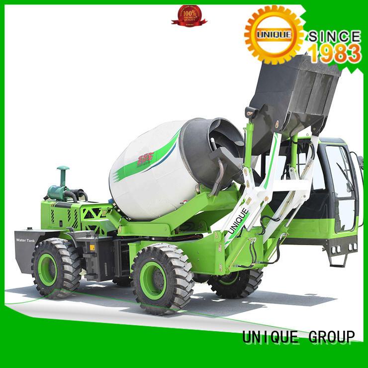 UNIQUE self cement mixer truck metering