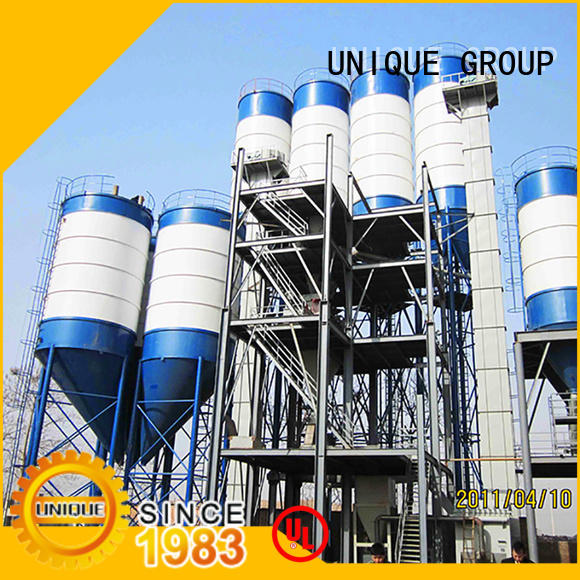 unique design dry mix concrete plant plant factory sale for project