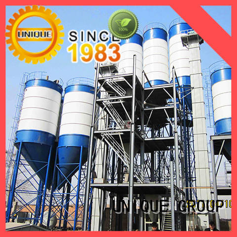 UNIQUE high degree of automation dry mortar plant simple process for mortar