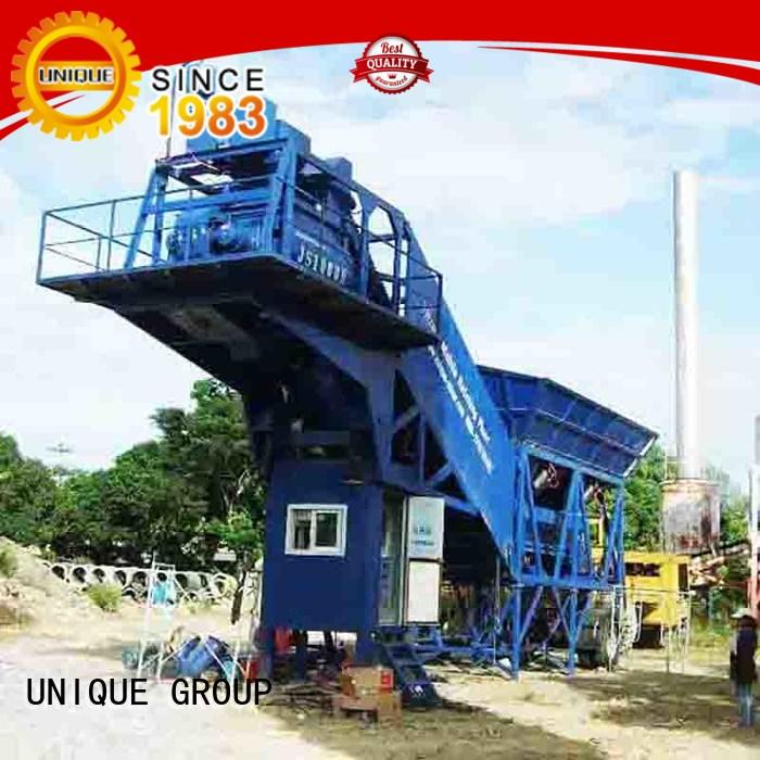 anti-interference concrete manufacturing plant concrete manufacturer for sea port