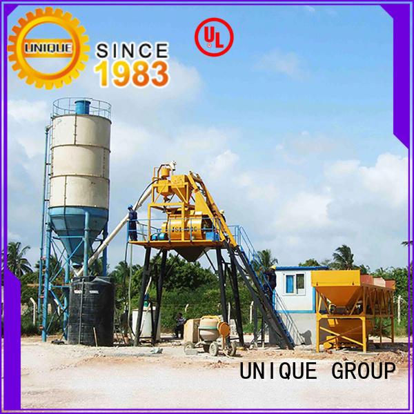 UNIQUE mobile batching plant manufacturer for building