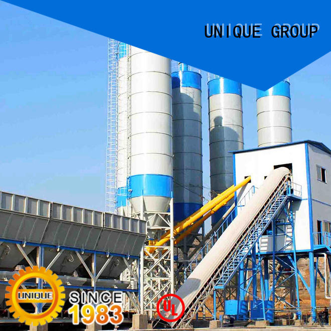 UNIQUE anti-interference ready mix plant at discount for sea port