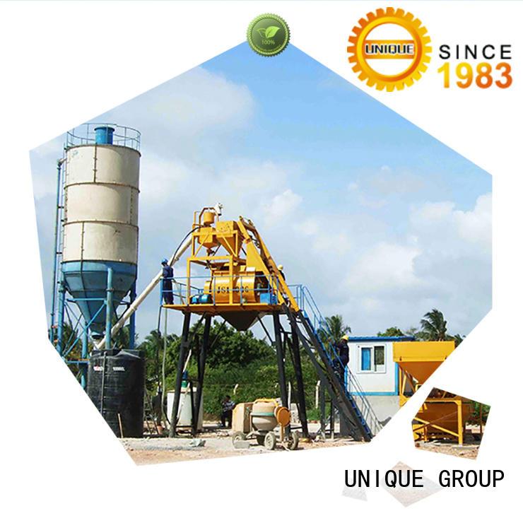 UNIQUE anti-interference concrete batching plant manufacturer for bridges