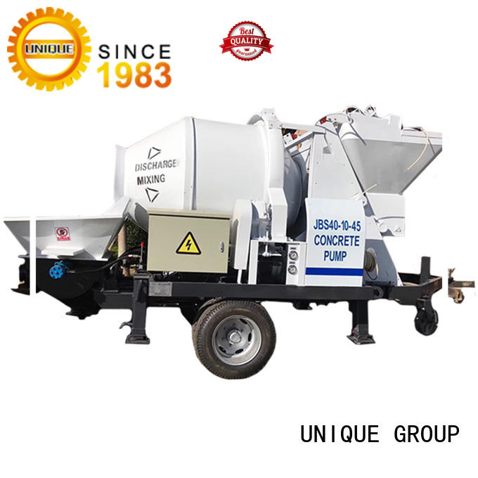 professional concrete pump machine mixer supplier for water conservancy