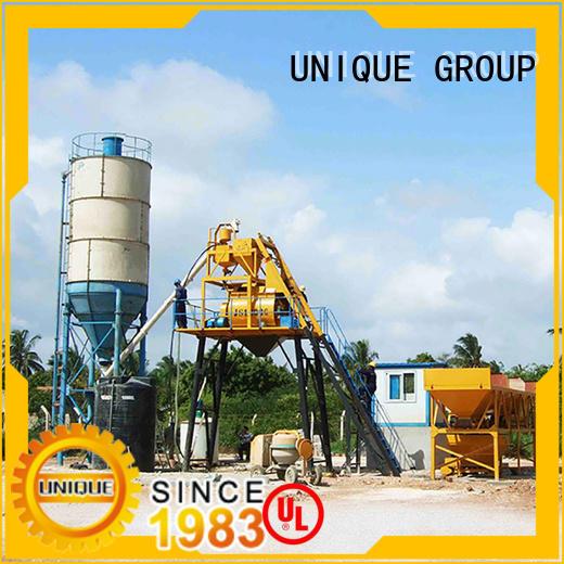 UNIQUE concrete manufacturing plant manufacturer for road