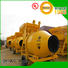 easy useconcrete mixer price twin with feeding system for hard-dry concrete